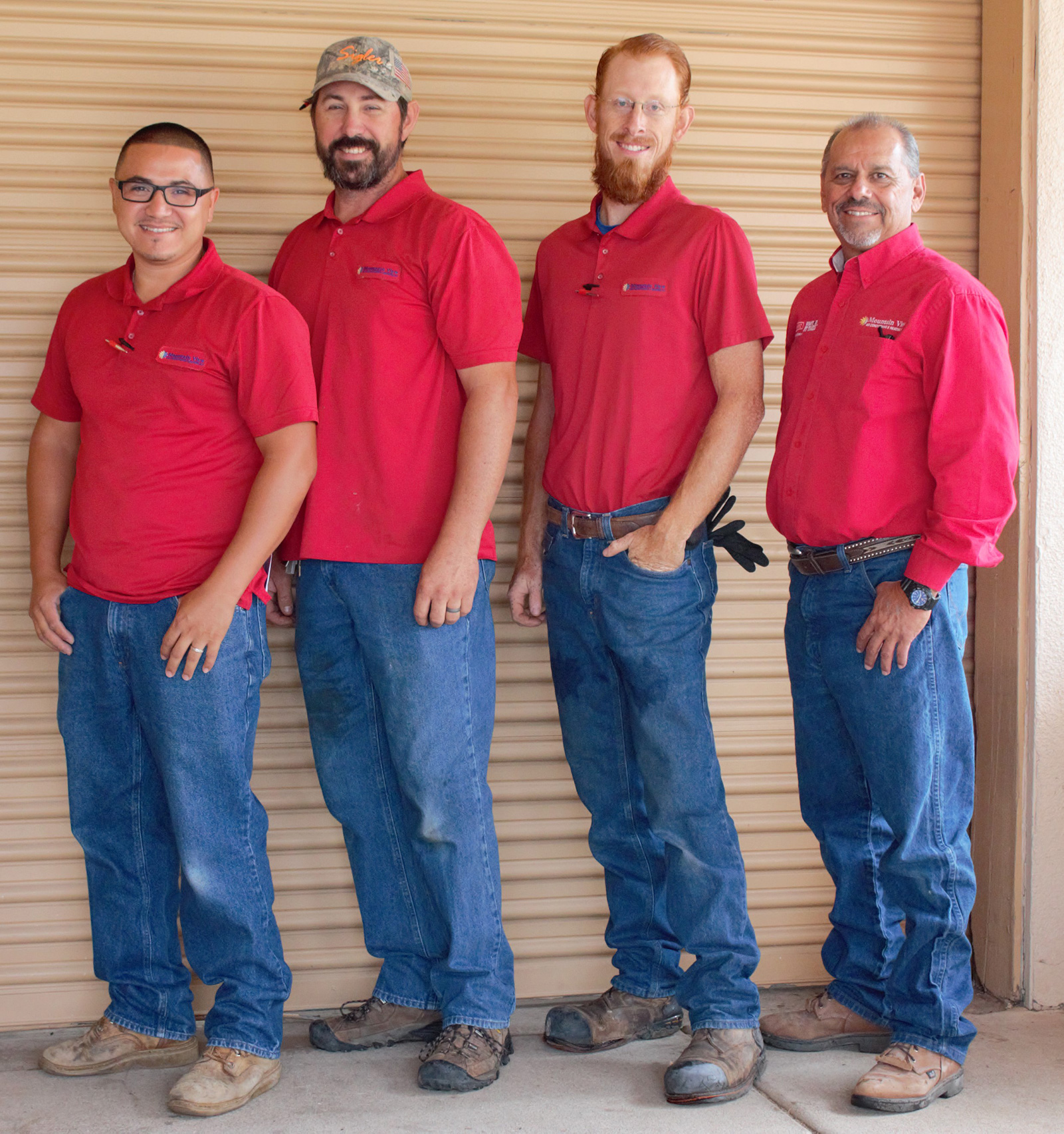 Service Department Group Photo